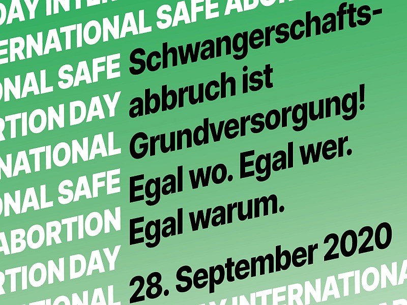 28. September - Safe Abortion Day